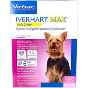 Iverhart Max Chewable Tablets For Dogs 6-12lbs 6pk-product-tile