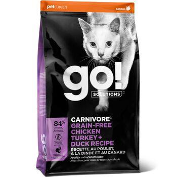 Go! Carnivore Grain Free Chicken, Turkey + Duck Recipe 8 lb product detail number 1.0