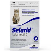 Selarid (Selamectin) Cats 5.1-15 lbs 6 pk-product-tile