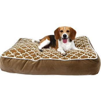 Bowsers Designer Dog Bed Large Cedar Lattice product detail number 1.0