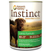 Nature's Variety Instinct Canned Dog Food Lamb 6 x 13.2 oz-product-tile