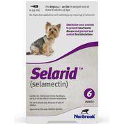 Selarid (Selamectin) Dogs 5.1-10 lbs 6 pk-product-tile