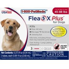 Flea5X Plus 3pk Dogs 45-88 lbs-product-tile