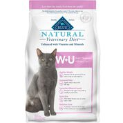 BLUE Natural Veterinary Diet W+U Weight Management + Urinary Care Dry Cat Food-product-tile