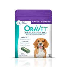 OraVet Dental Hygiene Chews Medium 14 ct-product-tile