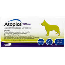 Atopica For Dogs 100 mg 30 Capsule Pk-product-tile