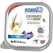Forza10 Nutraceutic ActiWet Dermo Support Icelandic Fish Recipe Canned Cat Food-product-tile