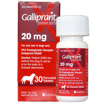 Galliprant 20 mg Tab 30 ct product detail number 1.0