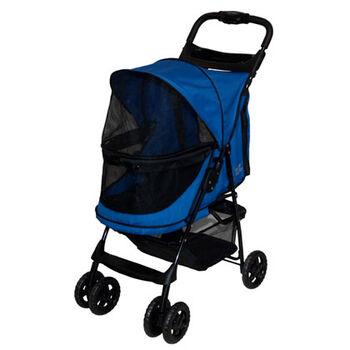 Pet Gear Happy Trails No Zip Pet Stroller - Sapphire product detail number 1.0