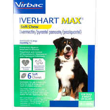 Iverhart Max Chewable Tablets For Dogs 25.1-50lbs 6pk-product-tile