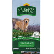 California Natural Limited Ingredient Diet Lamb Meal & Rice Large Bites Dry Dog Food