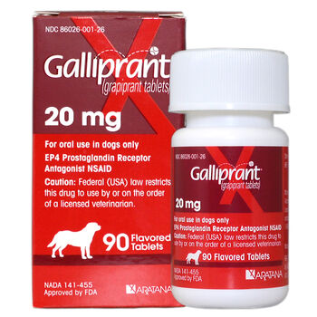 Galliprant 20 mg Tab 90 ct product detail number 1.0