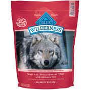 Blue Buffalo Wilderness Adult Dog Dry Food Salmon Recipe 24 lb bag