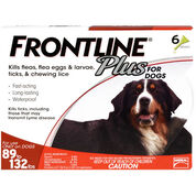Frontline Plus 6pk Dogs 89-132 lbs-product-tile