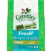 Greenies Fresh Dental Treats for Dogs