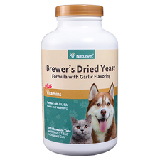 NaturVet Brewer's Dried Yeast with Garlic-product-tile
