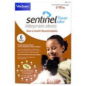 Sentinel 12pk Brown 2-10 lbs Flavor Tabs-product-tile