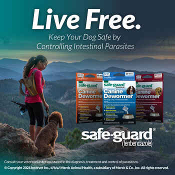 Safe-Guard Canine Dewormer Three 2 Gram Packages