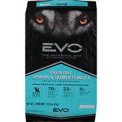 EVO Grain Free Herring & Salmon Formula Adult Dry Dog Food
