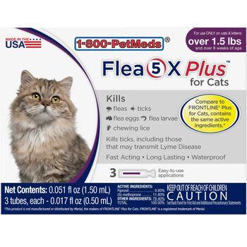 Flea5X Plus 3pk Cats product detail number 1.0