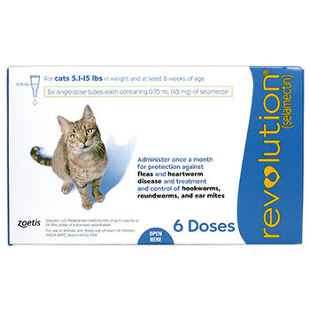 Revolution 6pk Cat 5.1-15 lbs product detail number 1.0