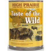 Taste Of The Wild Canned Dog Food High Prairie 12 x 13.2 oz