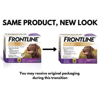 Frontline Gold 3 pk Dog X-large 89-132 lbs