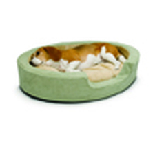 Heated Bolster Dog Bed-product-tile