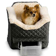 Snoozer Lookout Ii Pet Car Seat - Large Black-product-tile
