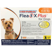 Flea5X Plus - Generic to Frontline Plus 3pk Dogs 5-22 lbs-product-tile