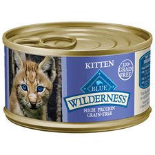 Blue Buffalo Wilderness Canned Kitten Food-product-tile