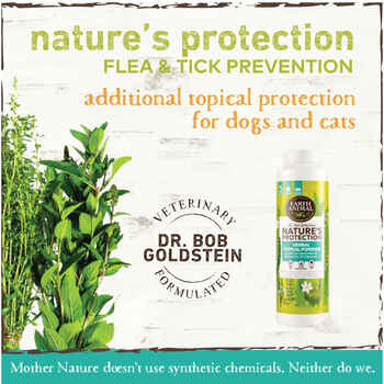Earth Animal Nature's Protection™ Flea & Tick Herbal Topical Powder
