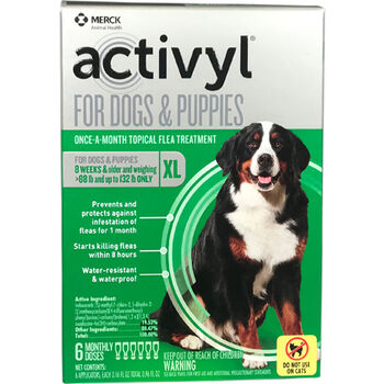 Activyl 6pk Dogs 88-132 lbs product detail number 1.0