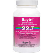 Baytril Taste Tabs 22.7 mg (sold per tablet)-product-tile
