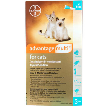 Advantage Multi 3pk Cats 2-5 lbs product detail number 1.0