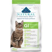 BLUE Natural Veterinary Diet GI Gastrointestinal Support- Dry Cat Food-product-tile