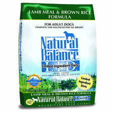 Natural Balance L.I.D. Limited Ingredient Diets Lamb Meal & Brown Rice Formula-product-tile