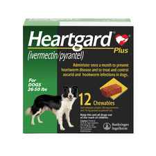 Heartgard Plus Chewables 12pk Green 26-50 lbs-product-tile