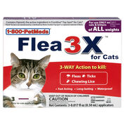 Flea3X for Cats 3pk