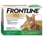 Frontline Gold 6 pk Cats & Kittens-product-tile