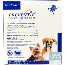 Preventic Amitraz Tick Collar for Dogs-product-tile