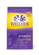 Wellness Super5Mix Dry Dog Food Chicken 30 lb