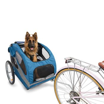 Happy Ride Dog Aluminum Bicycle Trailer