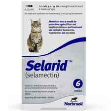 Selarid (Selamectin) Cats 5.1-15 lbs 12 pk-product-tile