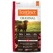 Nature's Variety Instinct Original Grain-Free Recipe with Real Beef Dry Dog Food-product-tile