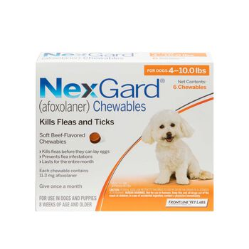 NexGard Chewables 6pk 4-10 lbs product detail number 1.0