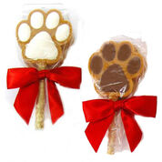 Claudia's Canine Cuisine Peanut Butter Paw Print Sucker-product-tile