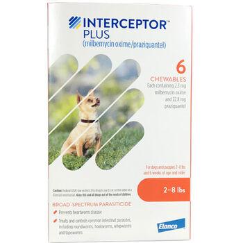 Interceptor Plus 12pk Brown 2-8 lbs product detail number 1.0