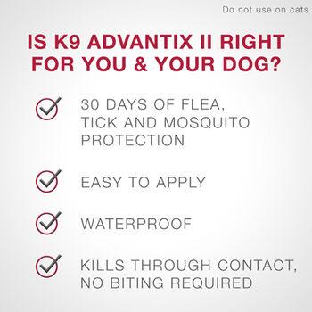 K9 Advantix II 4pk Green Dog 4-10 lbs