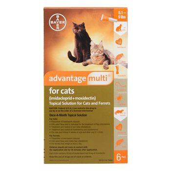 Advantage Multi 6pk Cats 5-9 lbs product detail number 1.0